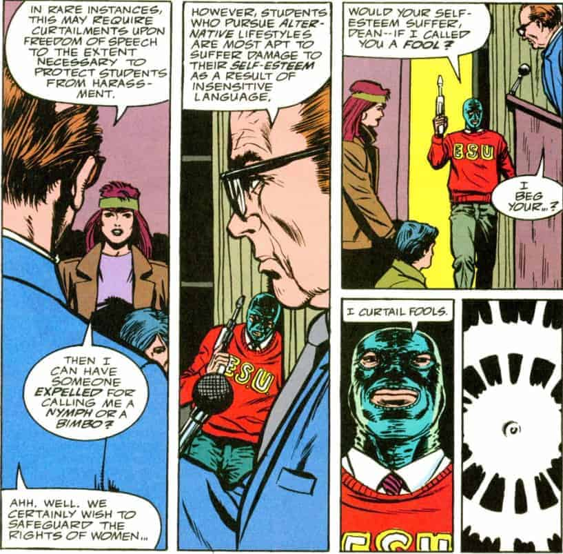 Foolkiller- Ooo, that PC culture