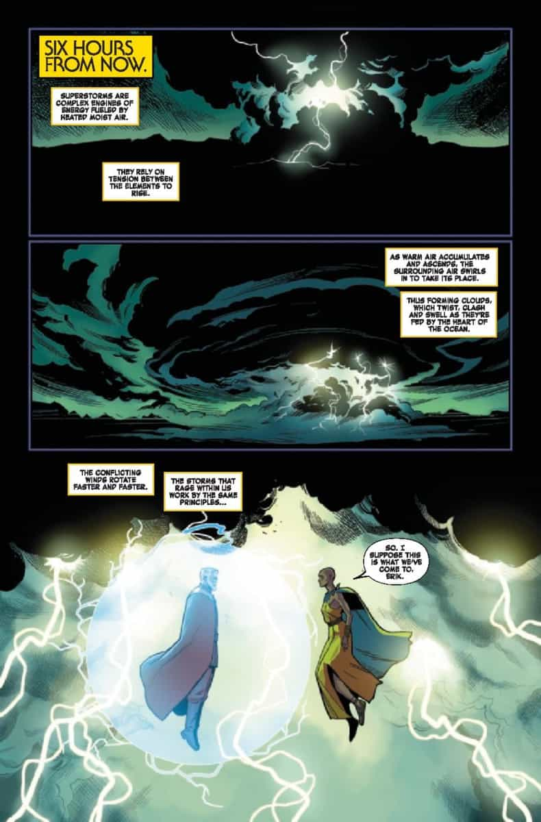 Storm and Magneto, Age of X-Man: The Marvelous X-Men #3