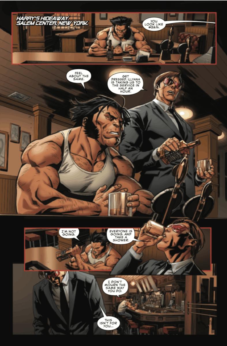 UNCANNY X-MEN #17 Cyclops Wolverine