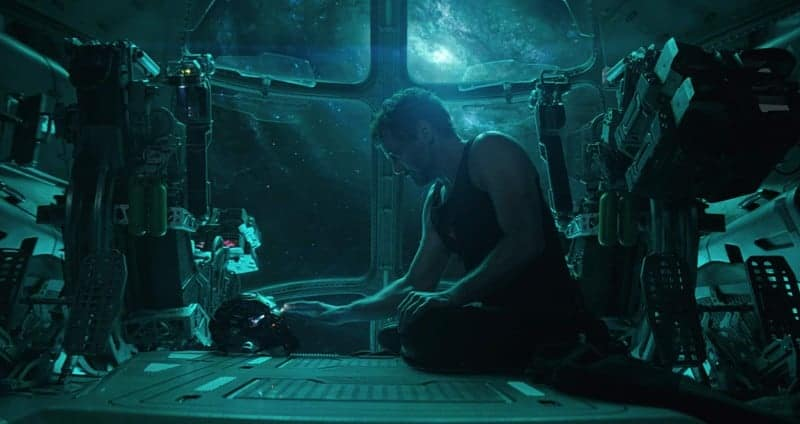 Tony stuck in Space