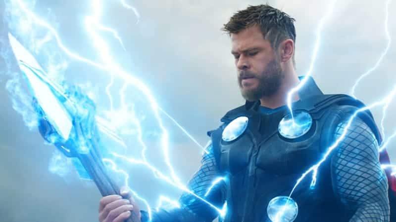 Thor in Avengers Endgame Trailer 2