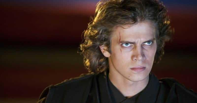 Anakin Skywalker in Revenge of the Sith