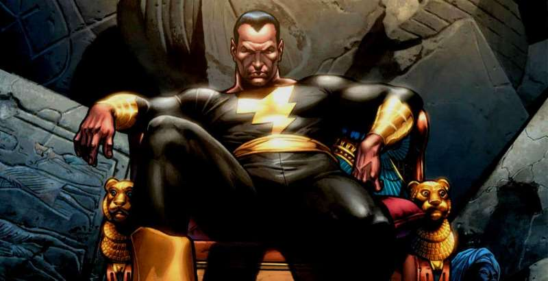 Shazam Questions: Black Adam chilling