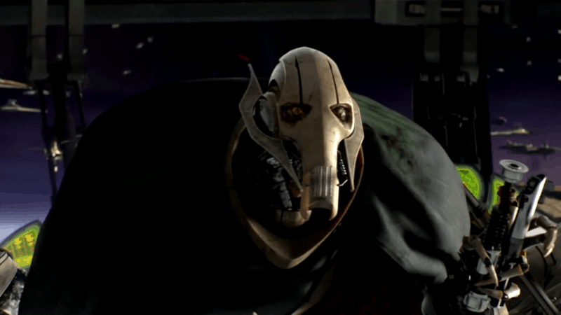 General Grievous in Revenge of the Sith