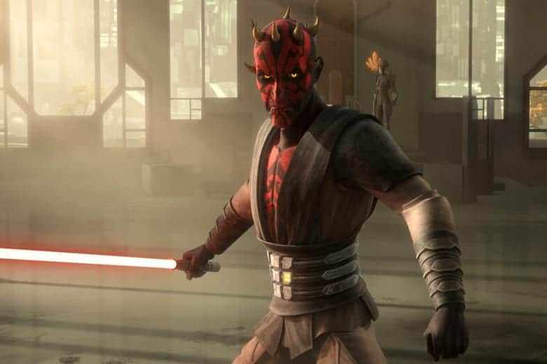 Darth Maul in The Clone Wars