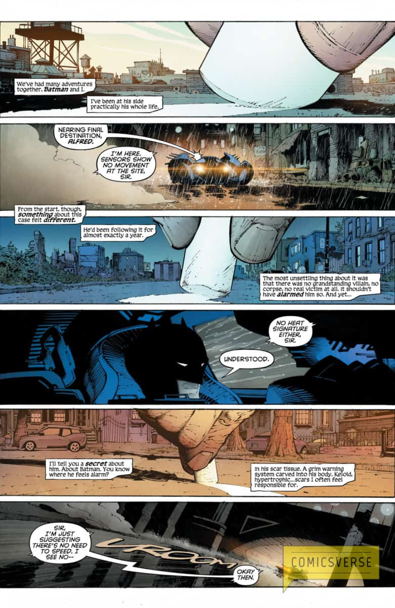 BATMAN LAST KNIGHT ON EARTH #1 page 2