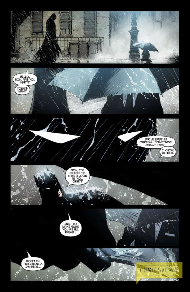 BATMAN LAST KNIGHT ON EARTH #1 page 4