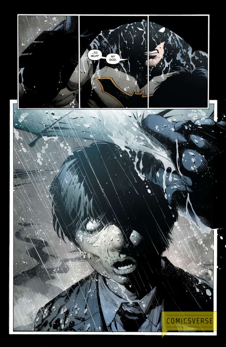 BATMAN LAST KNIGHT ON EARTH #1 page 5