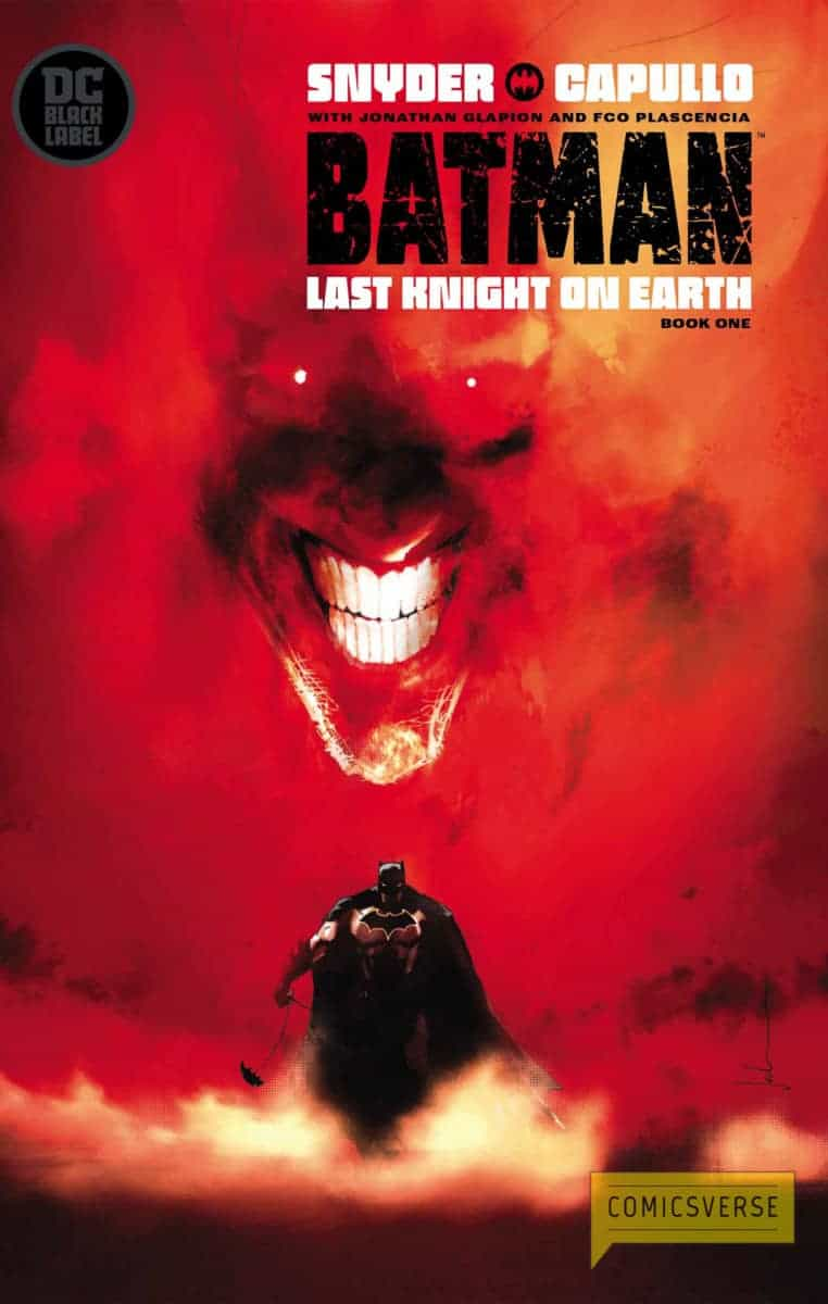 BATMAN LAST KNIGHT ON EARTH #1 variant cover