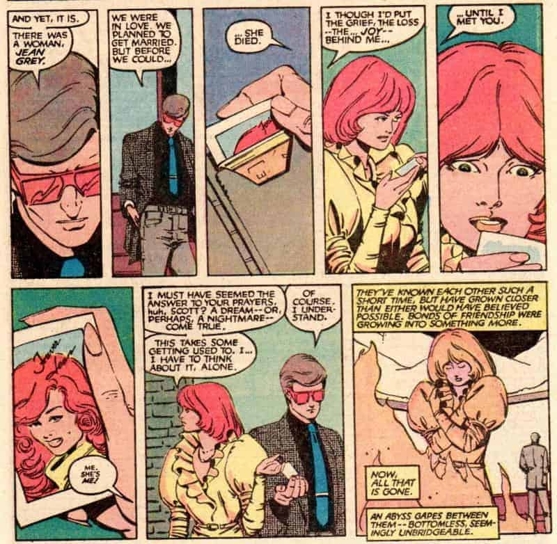Cyclops and Madelyne Pryor