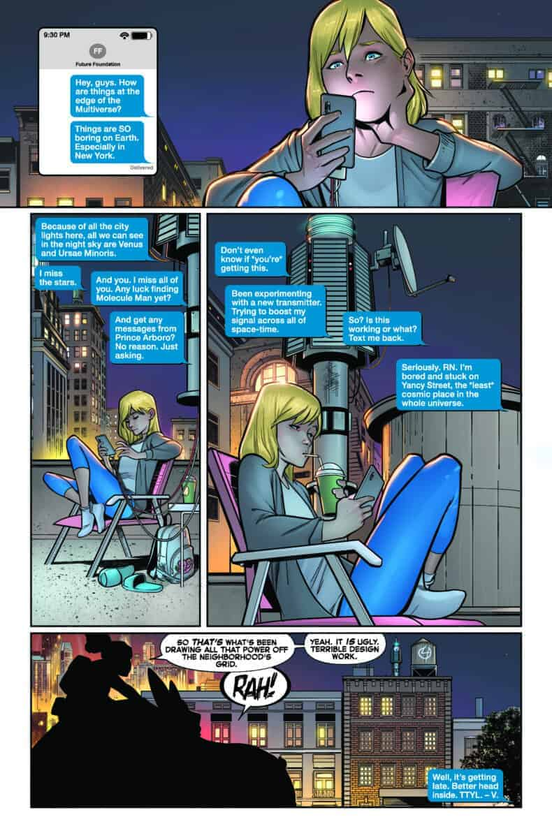 Fantastic Four #10 Preview page 1