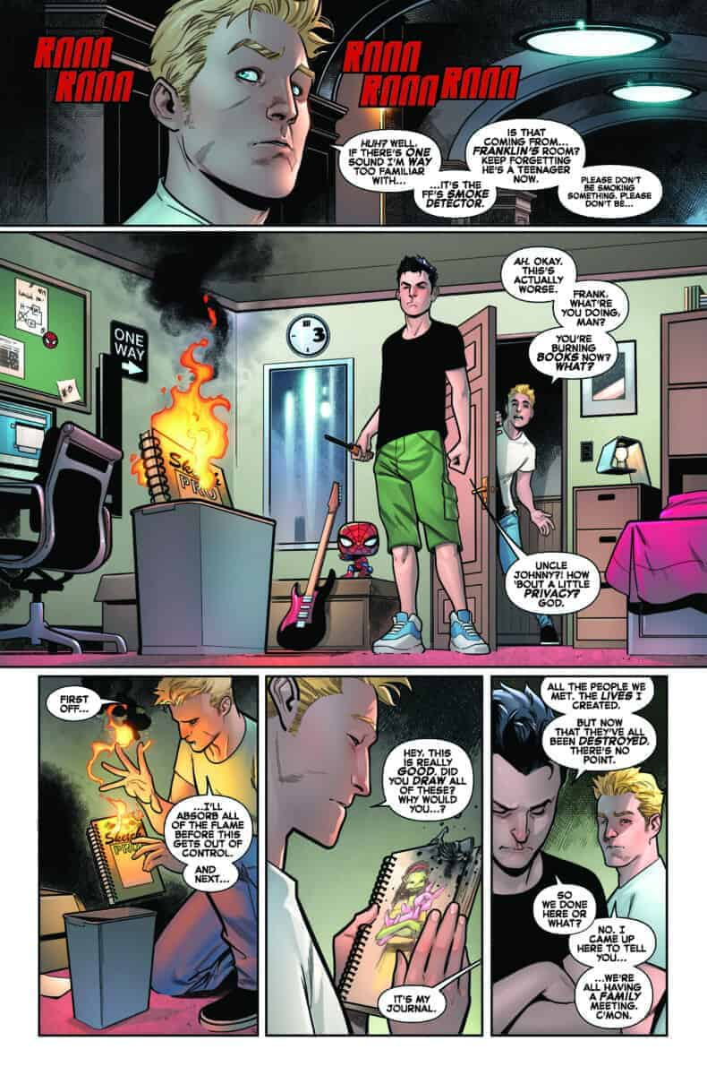 Fantastic Four #10 Preview page 2