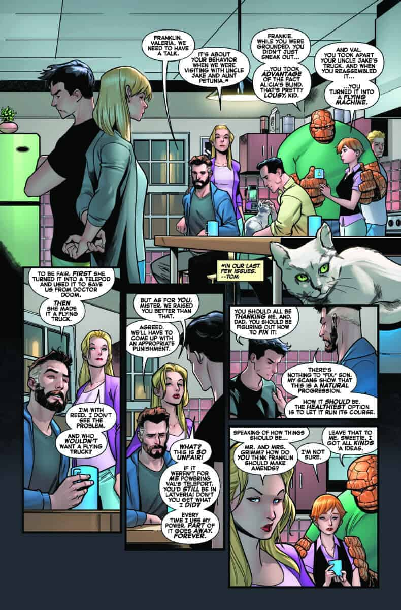 Fantastic Four #10 Preview page 3