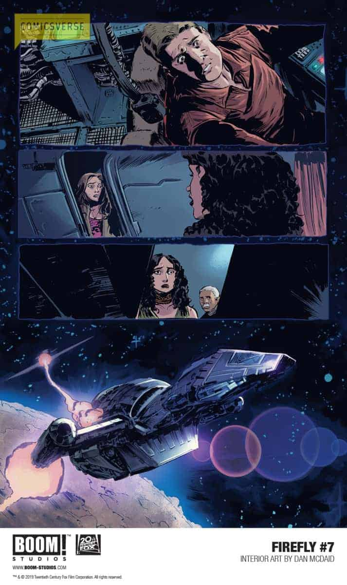 FIREFLY #7 Preview from BOOM! Studios - ComicsVerse