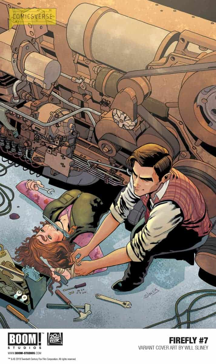 FIREFLY #7 preview Sliney variant promo cover