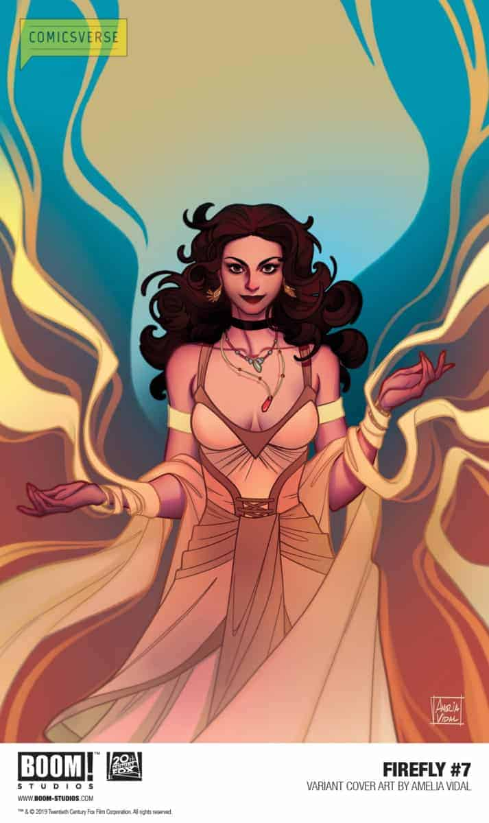FIREFLY #7 preview page Vidal variant cover