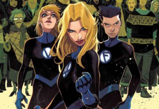 Fantastic Four #10 Preview pages
