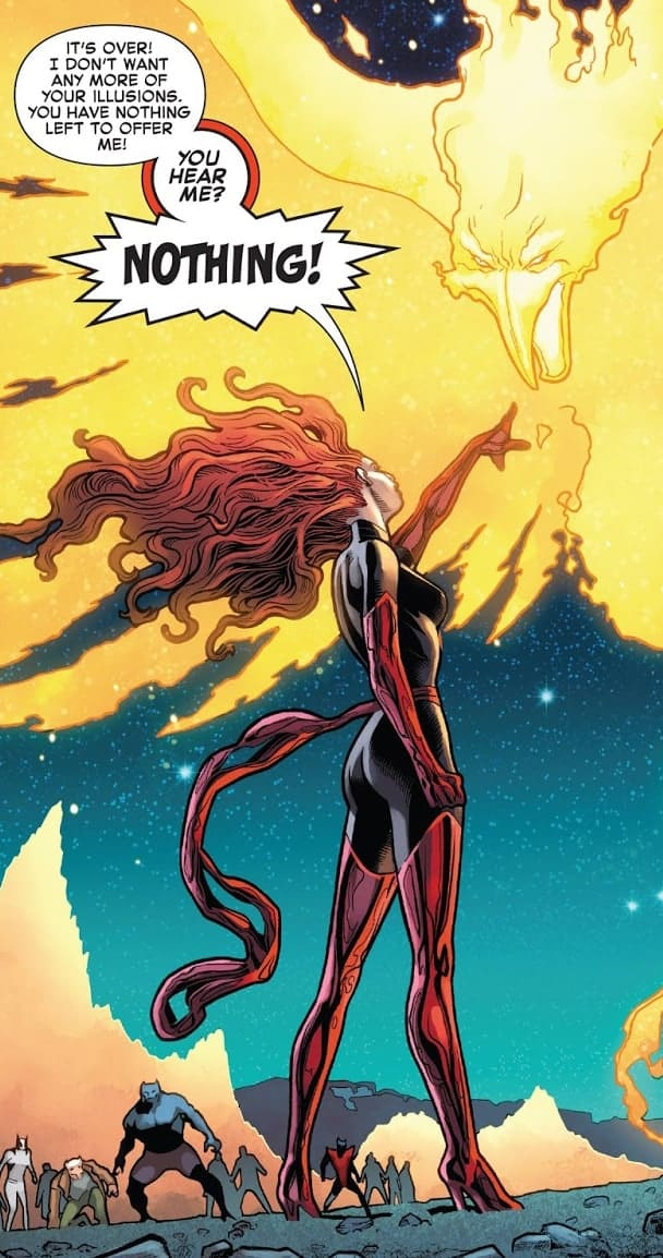 Jean Grey in Phoenix Ressurection