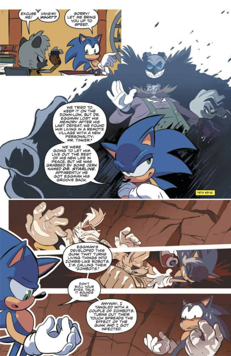 SONIC THE HEDGEHOG #16
