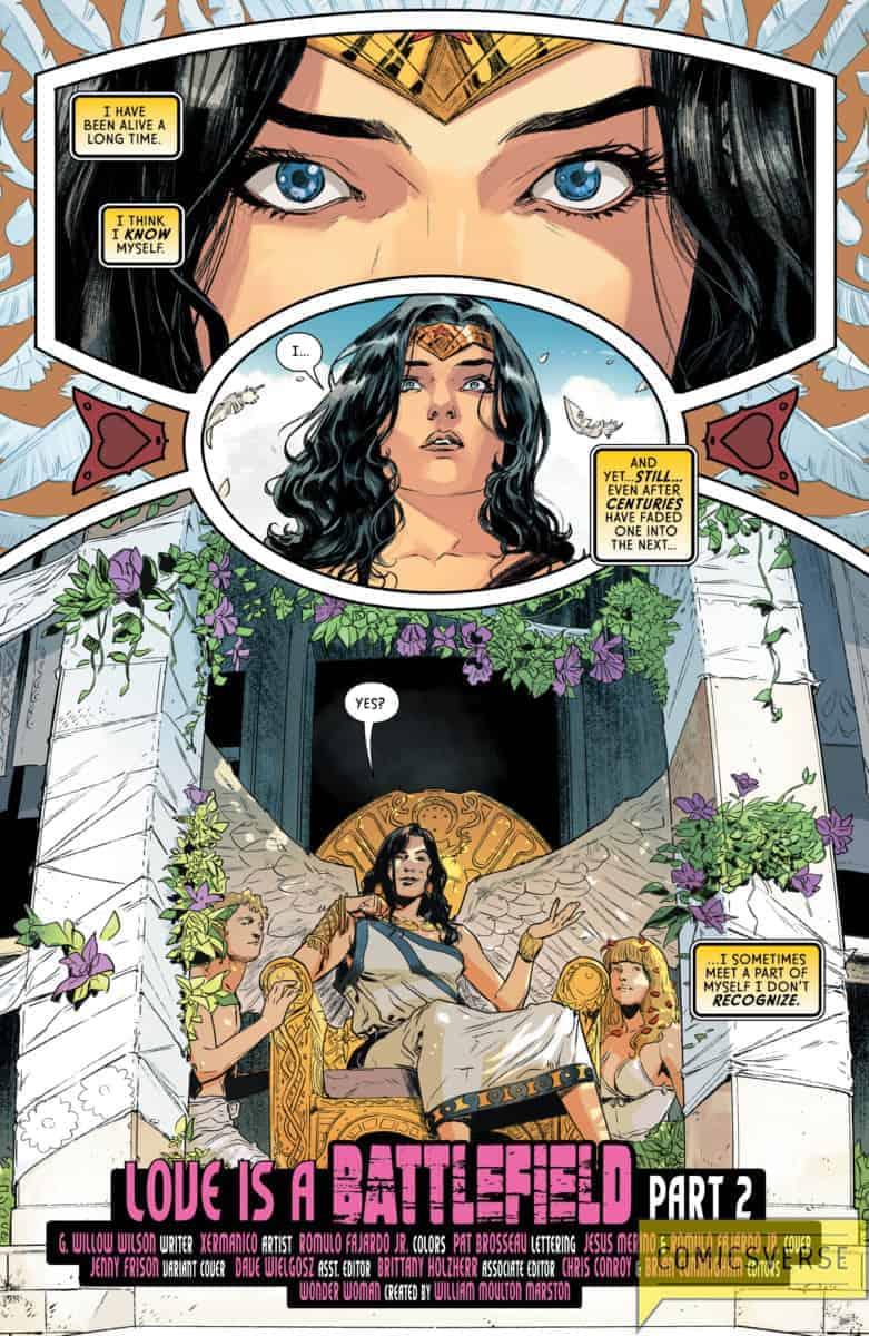 Wonder Woman #70