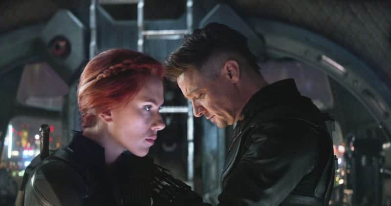 Avengers Endgame Natasha and Clint