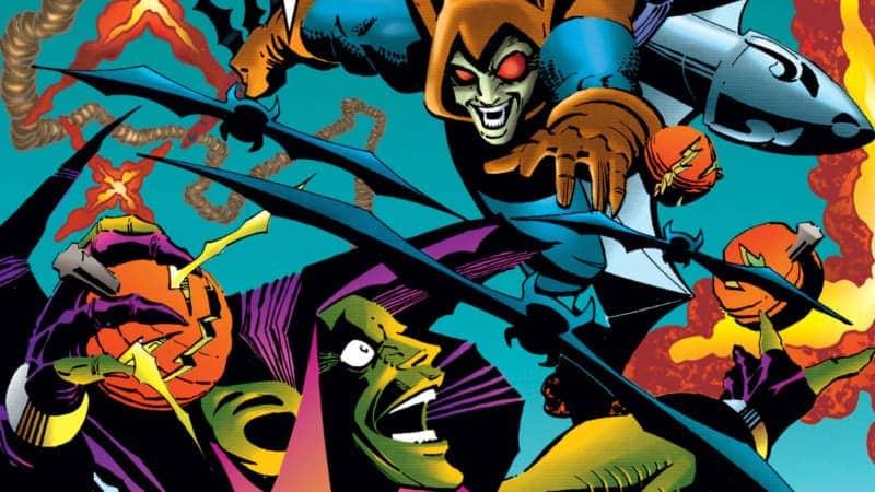 Spider-Man Villians Green Goblin vs HobGoblin
