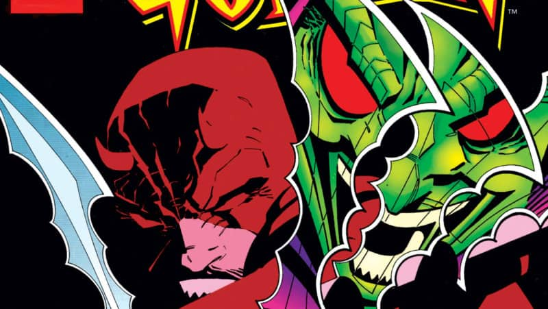 Green Goblin Facing Off With DareDevil