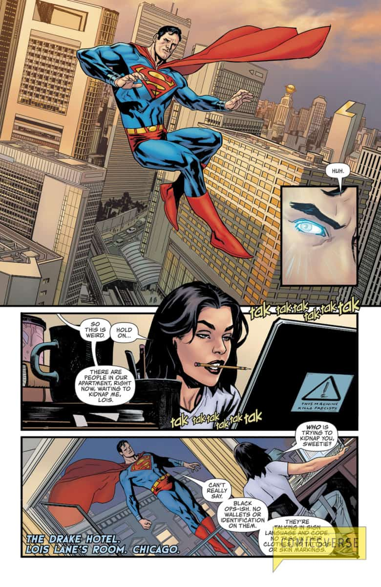 SUPERMAN: LEVIATHAN RISING SPECIAL #1 interior page 3