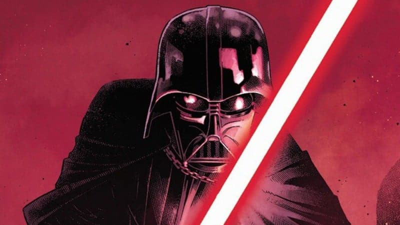 Darth Vader: Lord of the Sith in his Star Wars Comic
