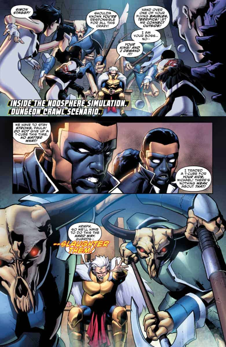 The Terrifics #17 page 1