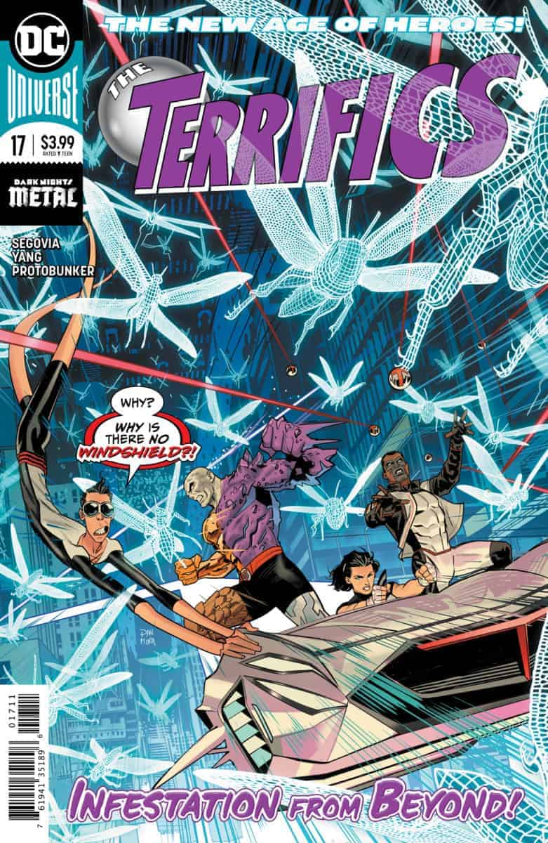 The Terrifics #17 cover