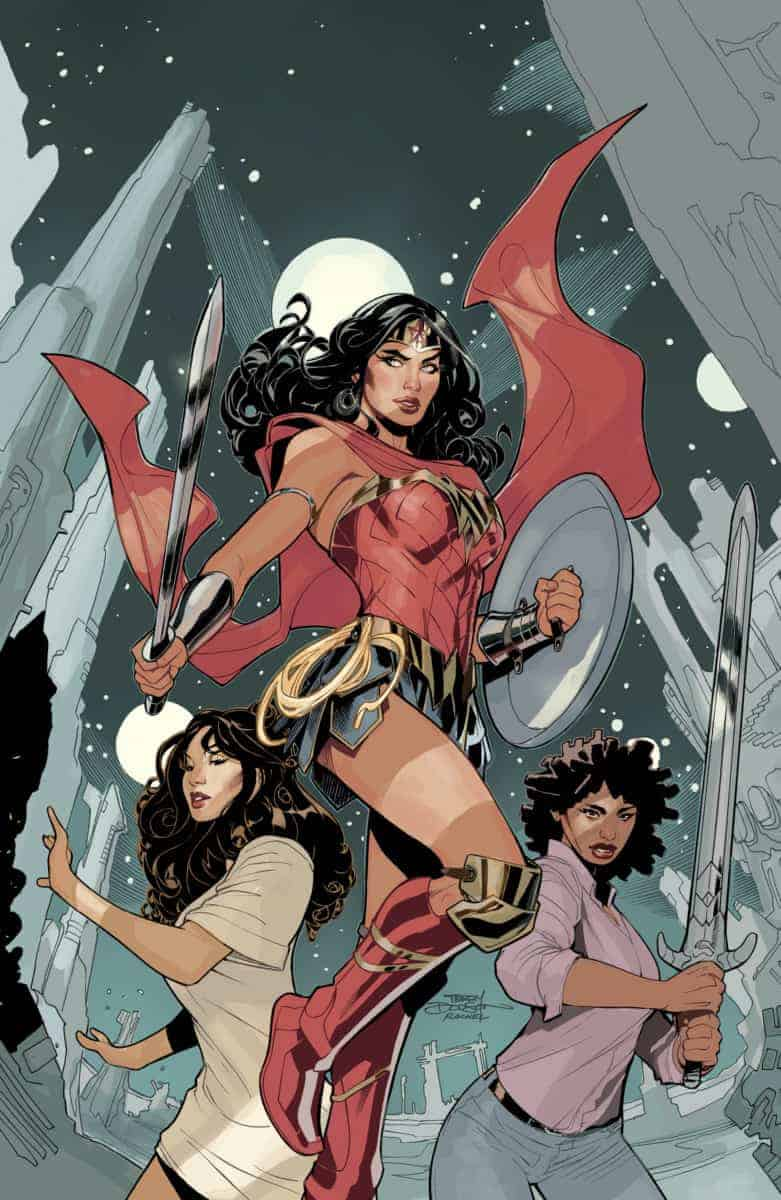Wonder Woman #72 cover no text