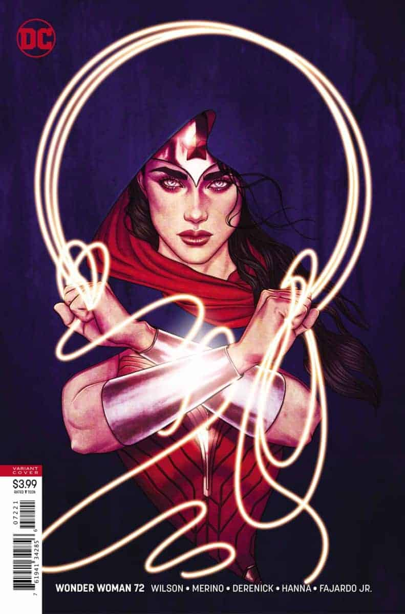 Wonder Woman #72 variant cover