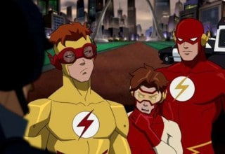 Three generations of the Flash