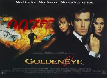 UK GoldenEye Poster 1995