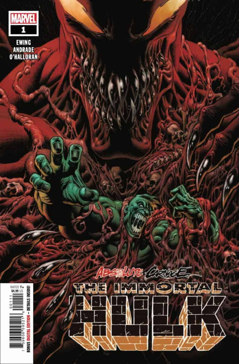 ABSOLUTE CARNAGE IMMORTAL HULK #1 cover