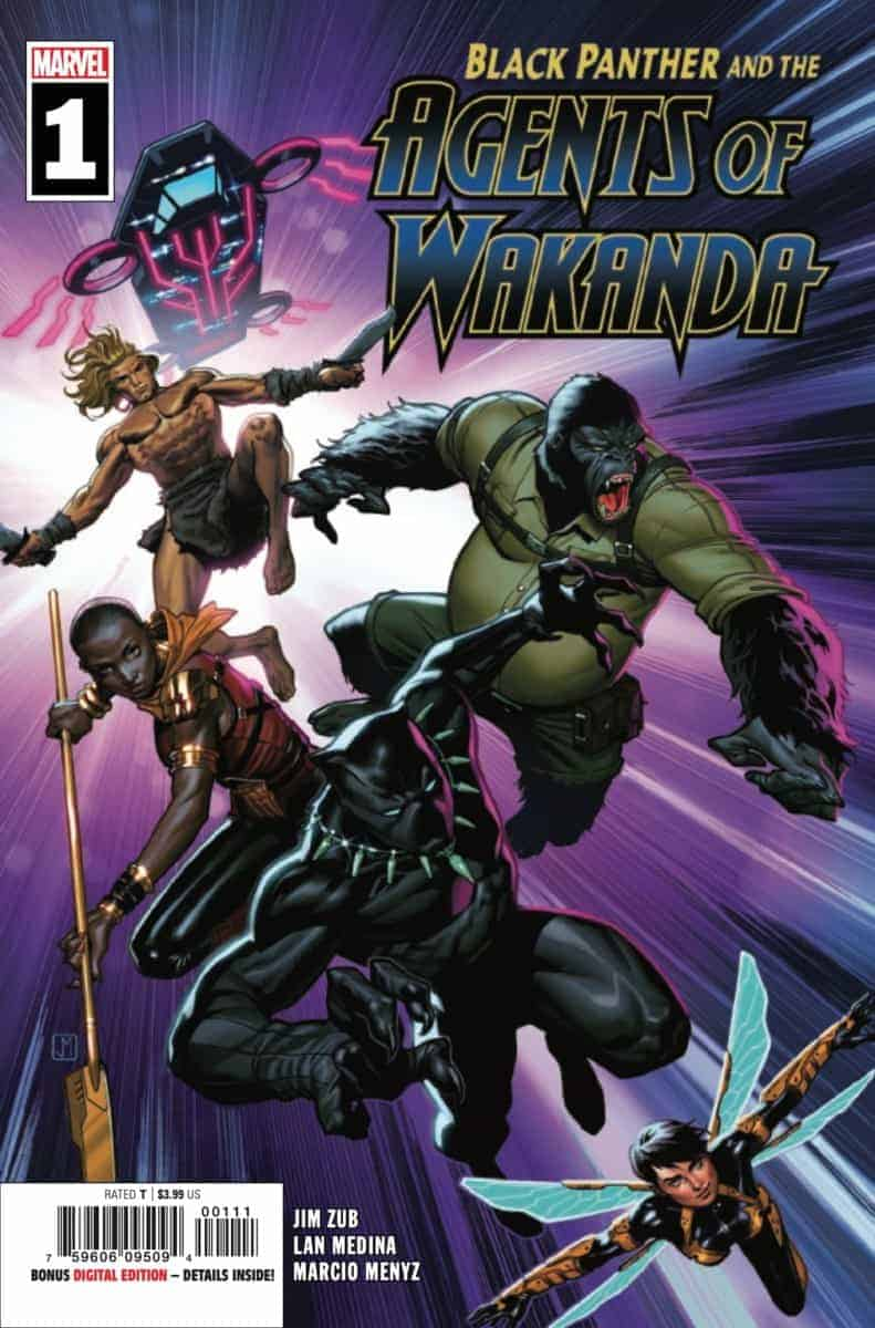 BLACK PANTHER AND THE AGENTS OF WAKANDA #1 cover