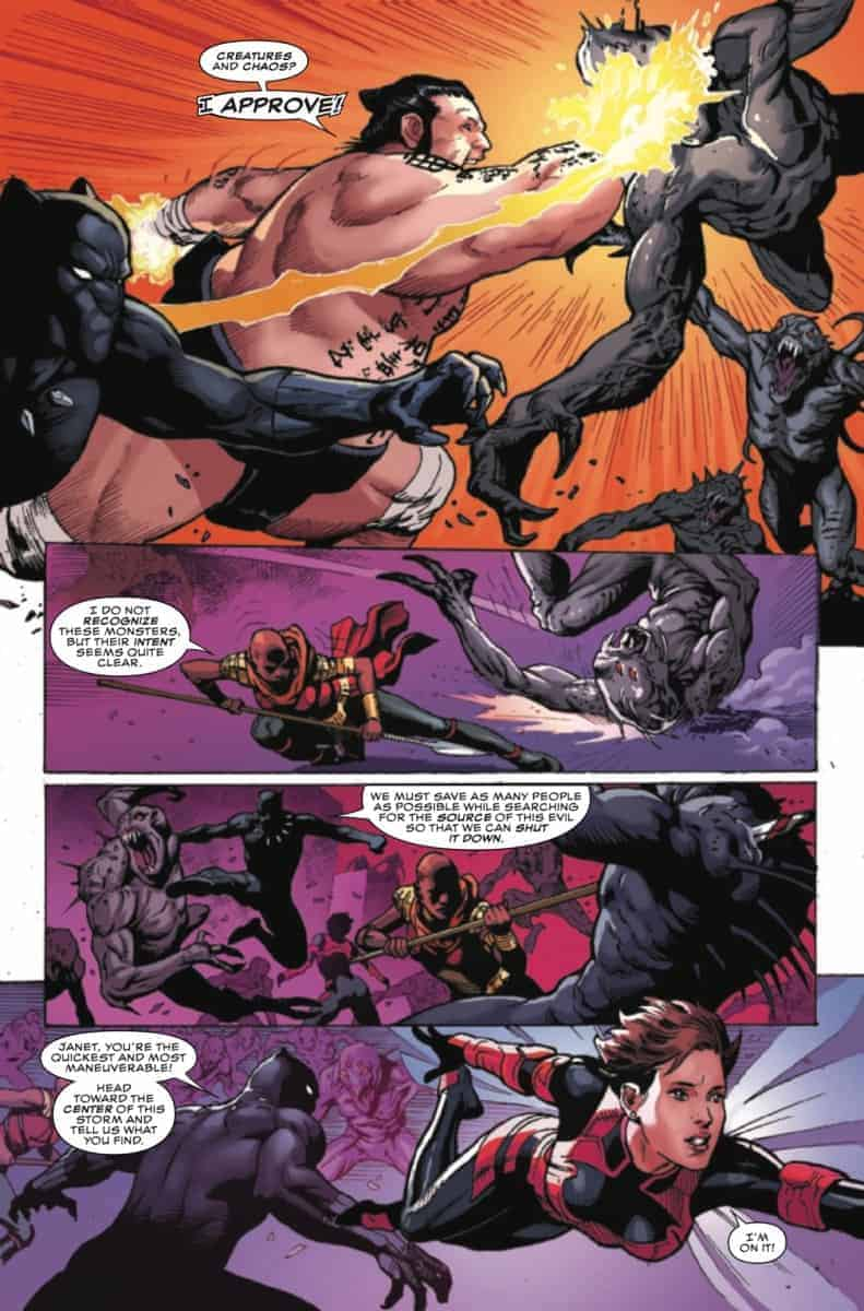 BLACK PANTHER AND THE AGENTS OF WAKANDA #1 page 6