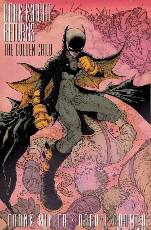 DC December Solicits Dark Knight Returns The Golden Child