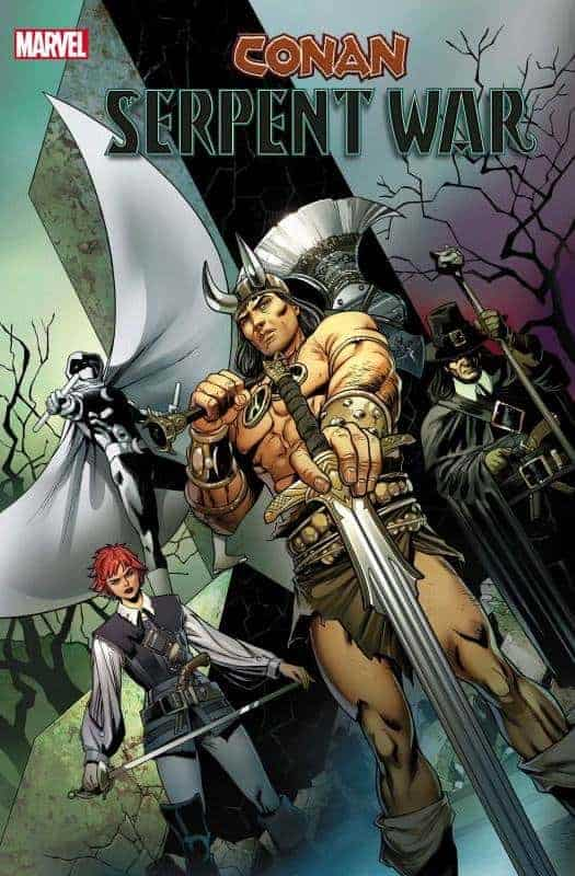 Marvel December Solicits Conan Serpent War