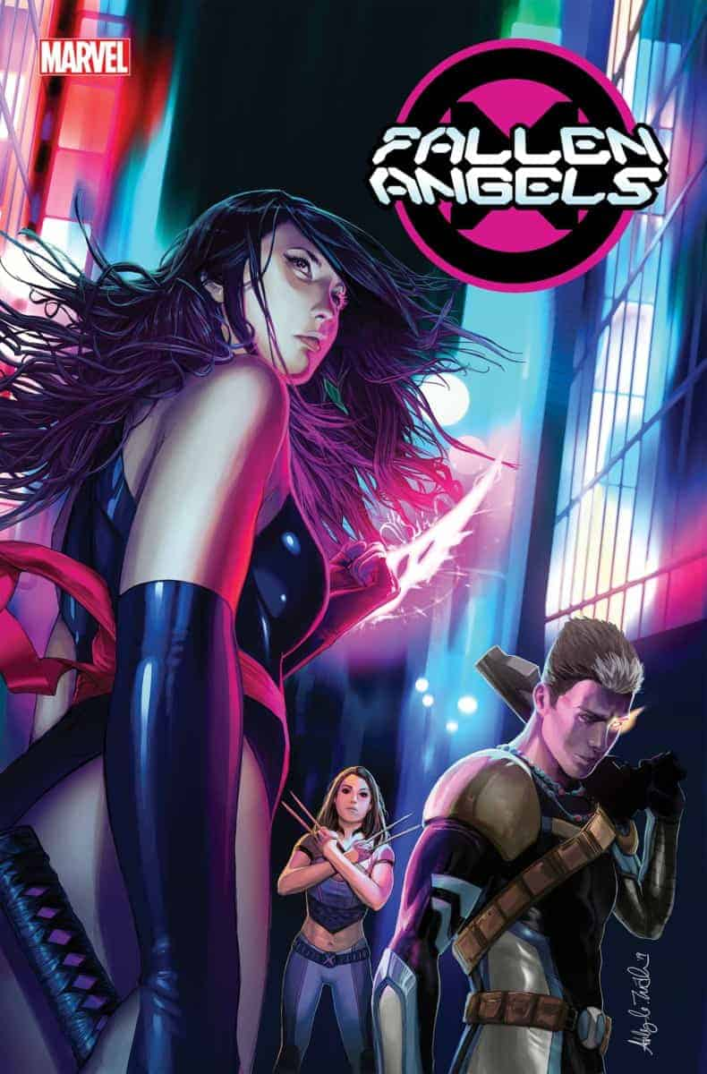 Dawn of X Fallen Angels #1 cover