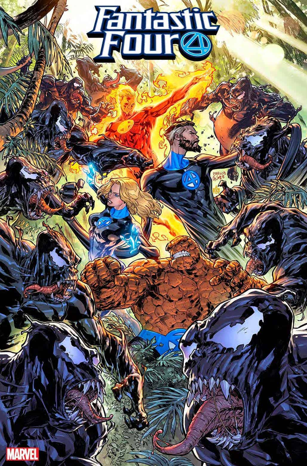 Fantastic Four in Venom Island cover variant