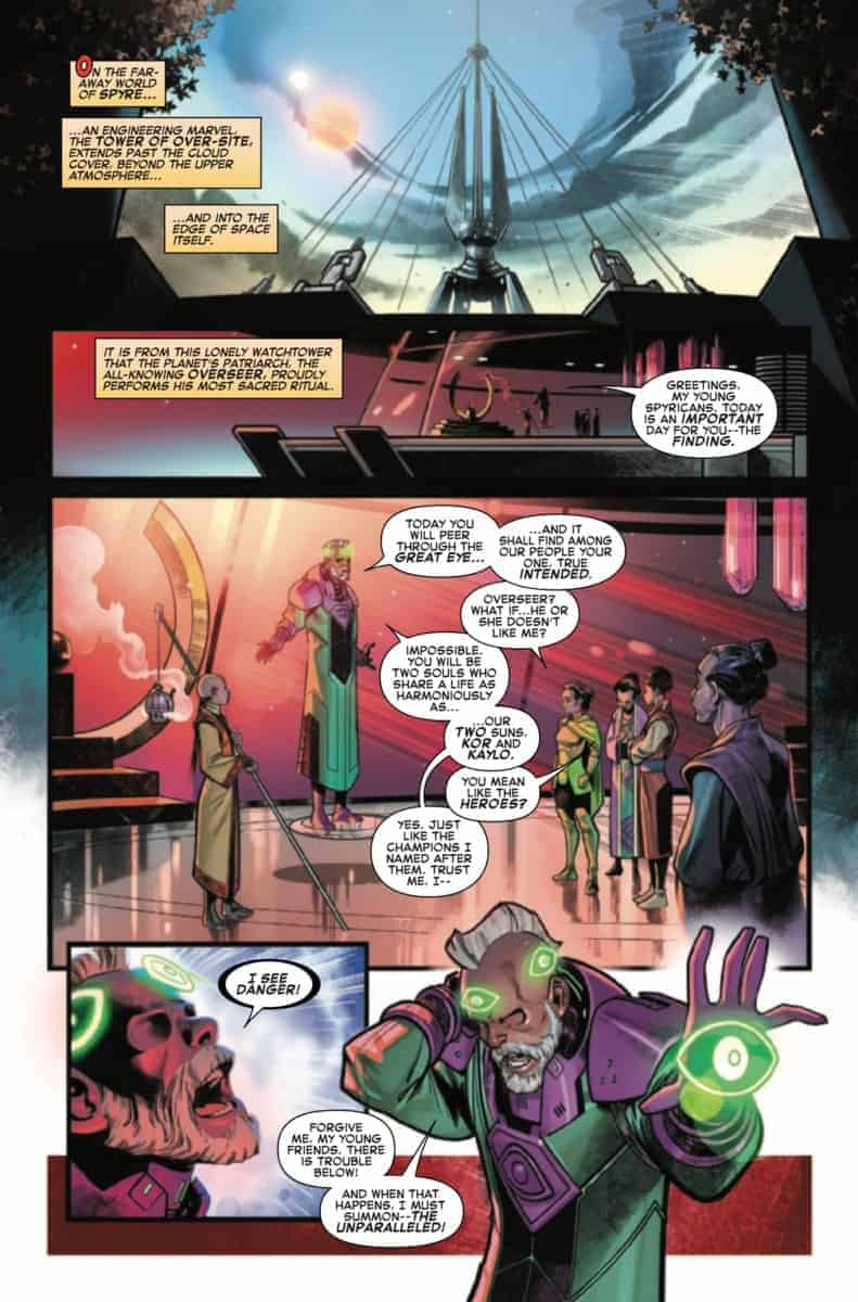 FANTASTIC FOUR #15 Preview page 3