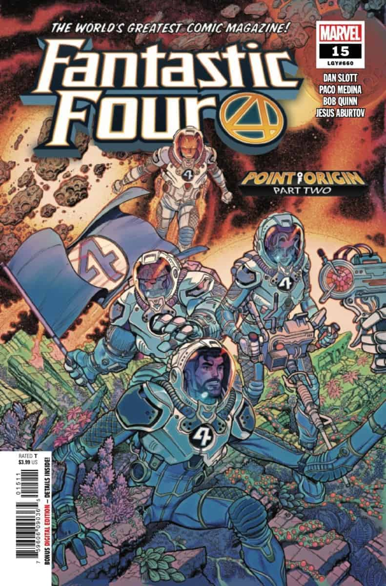 FANTASTIC FOUR #15 Preview cover