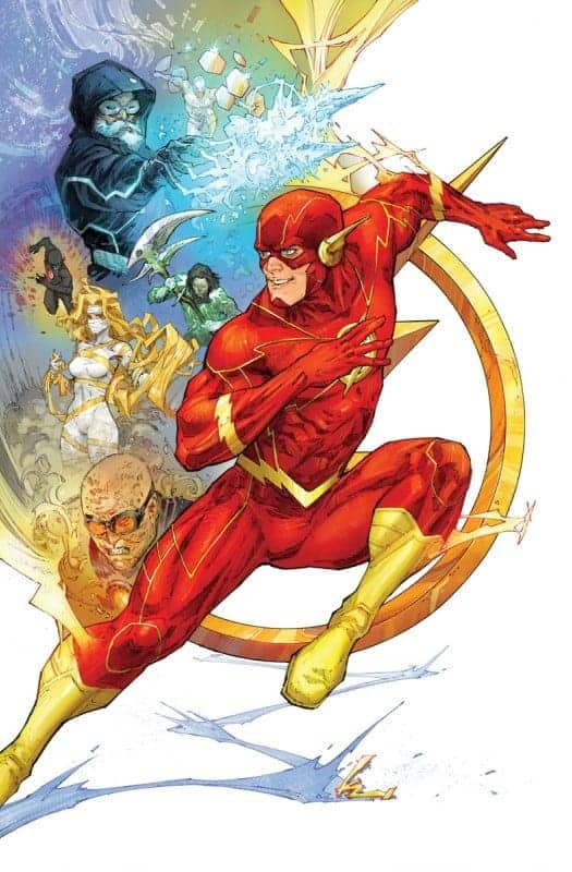 DC December Solicits Flash #84