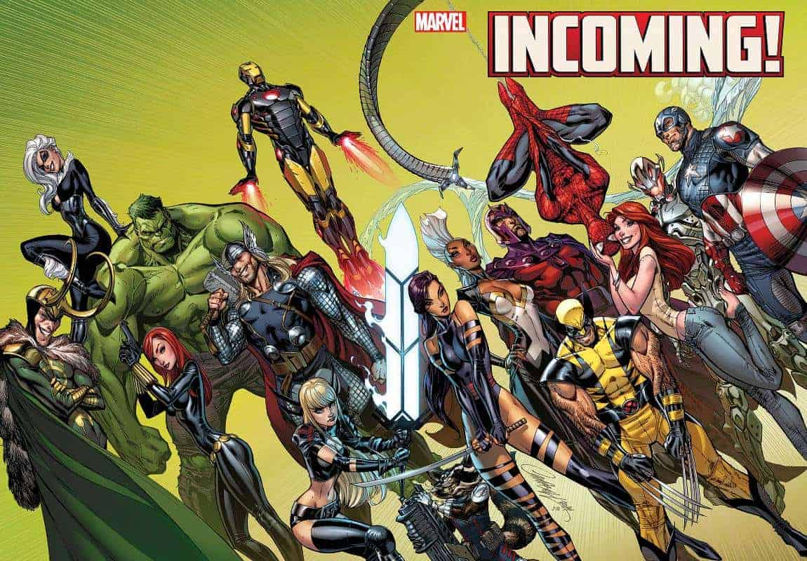 Marvel December Solicits Incoming Campbell