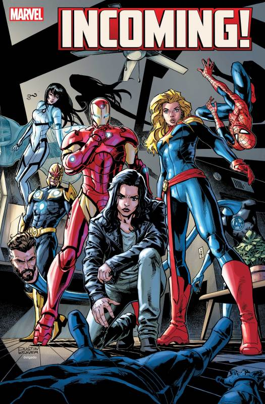 Marvel December Solicits Incoming Jessica Jones
