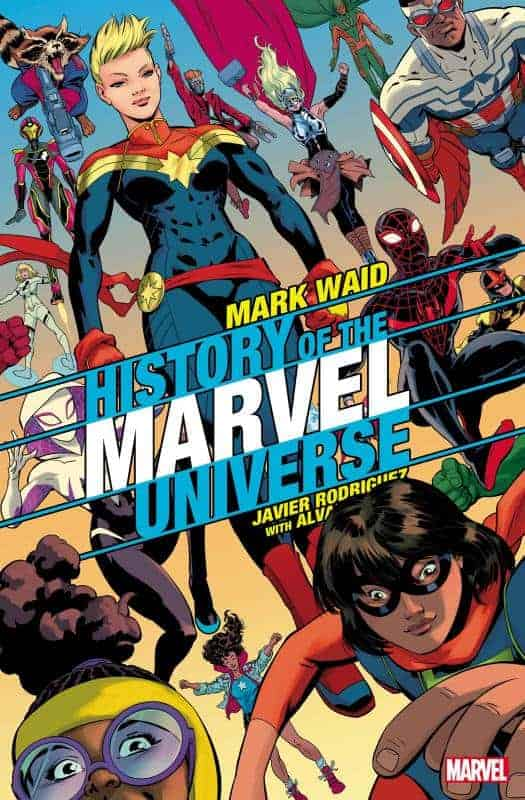 Marvel December Solicits History