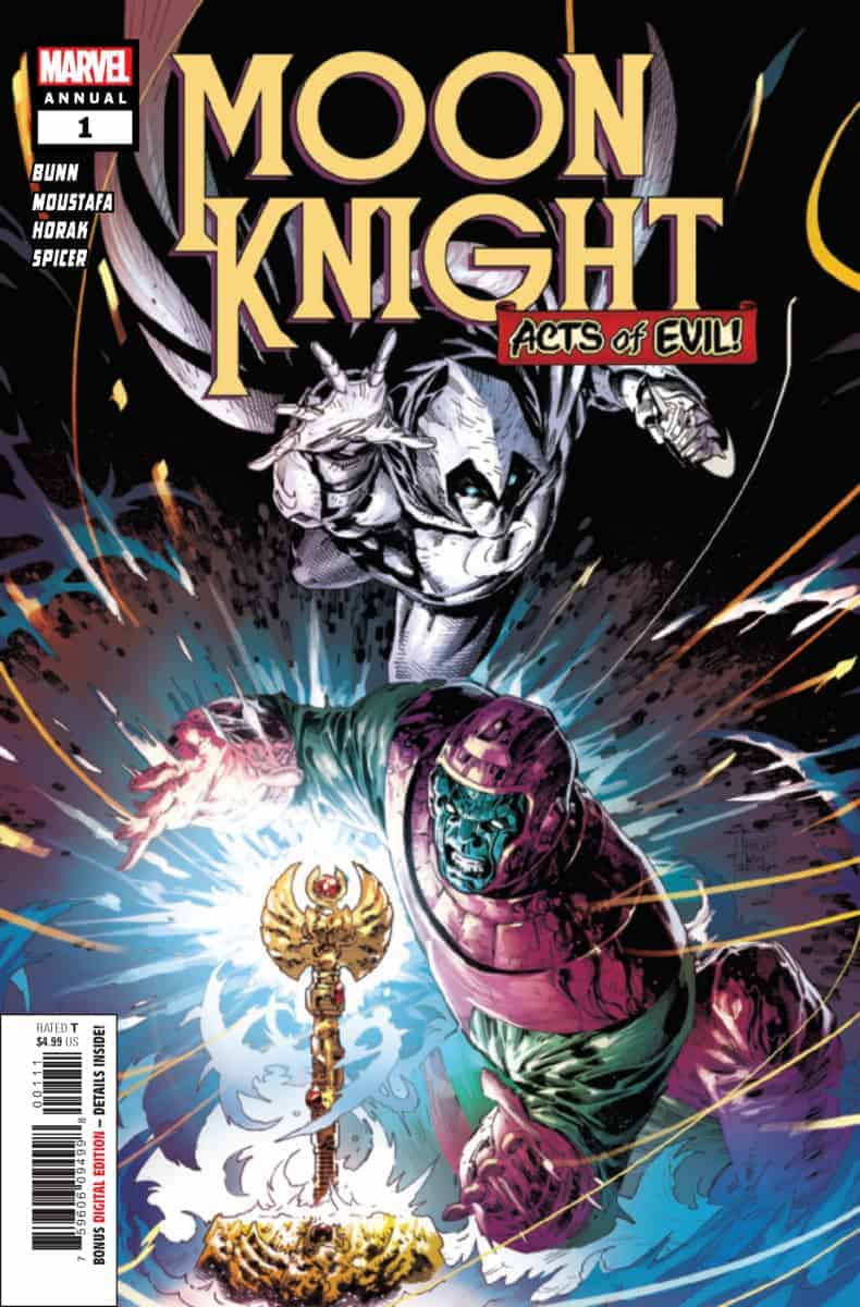 Moon Knight Annual #1 cover