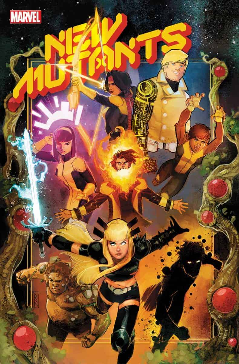 Dawn of X New Mutants #1 cover